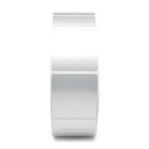 """Zebra 1"""" x 0.5"""" Z-Xtreme 4000T High-Tack Label (Silver) (Case) - 10023168"""