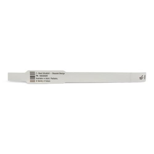 """Zebra 1"""" x 10.75"""" Z-Band UltraSoft Bracelet Design Wristband (Case) - 10033832K"""