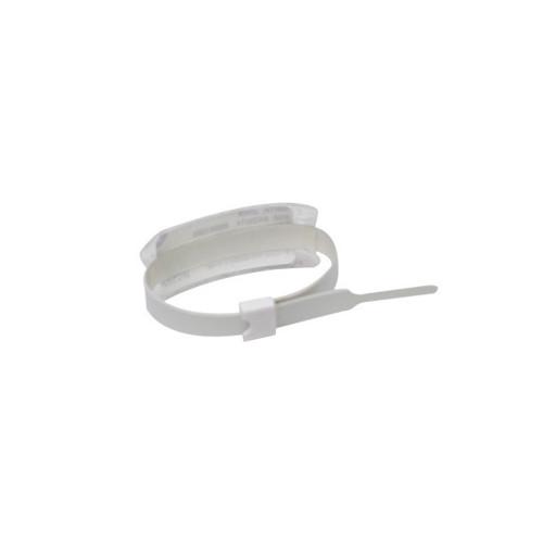 "Zebra 0.39"" x 8.5"" Slim Alert Self-Locking Closure Wristband (Case) - PS-INFANT-ADJ"