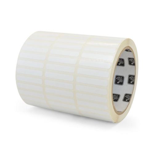 """Zebra 1"""" x 0.5"""" Z-Xtreme 4000T High-Tack Label (Silver) (Case) - 10023170"""