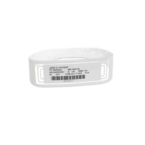 "Zebra 3.25"" x 1"" OmniBand Wristband (Orange) (Case) - LB2-ADULT-WL3-ORA"
