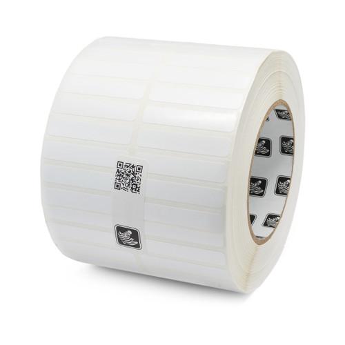 """Zebra 1.25"""" x 0.25"""" Z-Supreme 4000T Label (Green) (Case) - 10023319"""