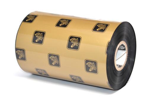 """Zebra 4.02"""" x 1,476' 5586 Wax/Resin Ribbon (Case) - 05586BK10245"""