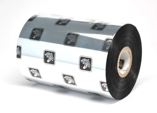 """Zebra 5.16"""" x 1,476' 5555 Wax/Resin Ribbon (Case) - 05555BK13145"""