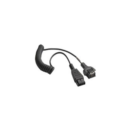 Zebra WT4X Headset Adapter Cable (Coiled) - 25-114186-03R
