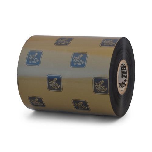 """Zebra 3.50"""" x 1,476' 5586 Wax/Resin Ribbon (Case) - 05586BK08945"""