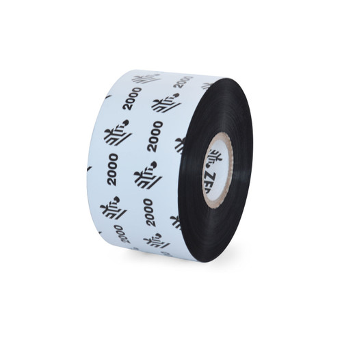 "Zebra 1.57"" x 1,476' 2000 Wax Ribbon (Case) - 02000BK04045"