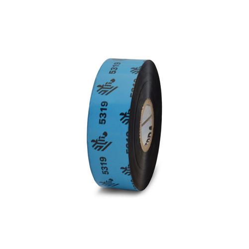 "Zebra 0.94"" x 1,476' 5319 Wax Ribbon (Case) - 05319BK02445"