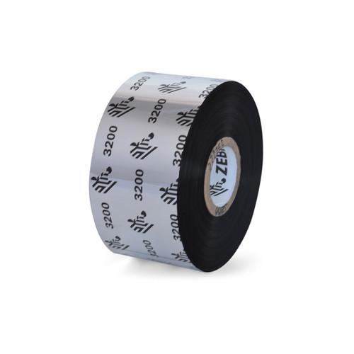 """Zebra 1.57"""" x 1,476' 3200 Wax/Resin Ribbon (Case) - 03200BK04045"""