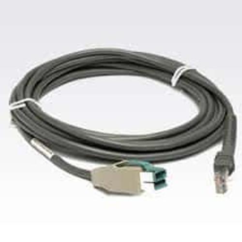 Zebra Barcode Scanner USB Cable (15' Straight) - CBA-U15-S15ZAR