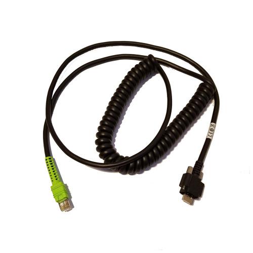 Zebra VC70 Shielded USB Cable (12' Coiled) - CBA-UF7-C12ZAR