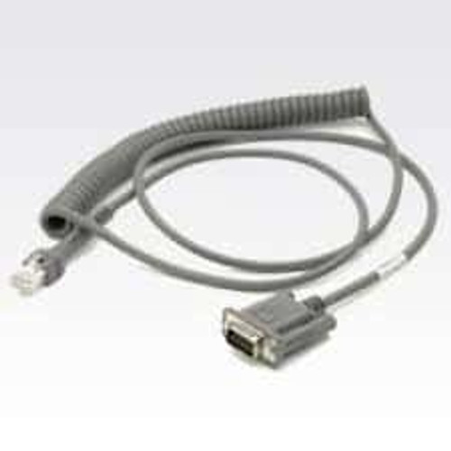 Zebra Barcode Scanner RS232 Cable - CBA-R09-C09ZAR