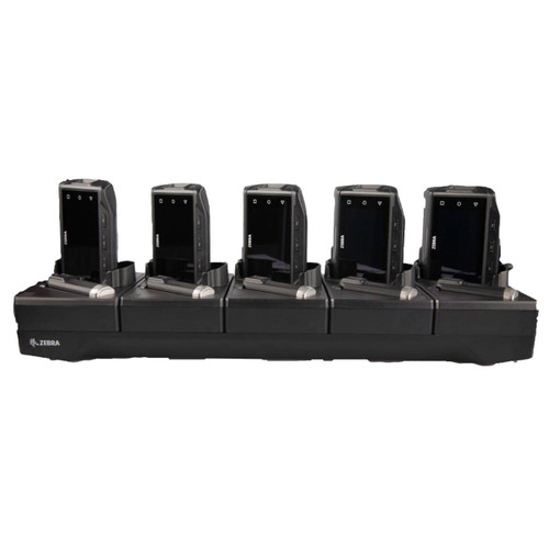 Zebra WT6X 5-Slot Ethernet Cradle & Battery Charger - CRD-NGWT-5S5BE-01