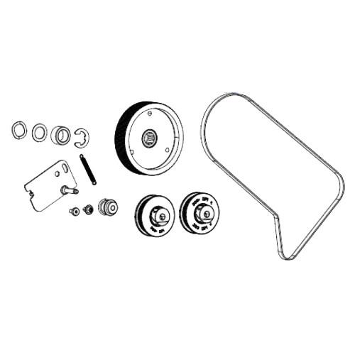 Zebra ZT510 Rewind Drive System - P1083347-019