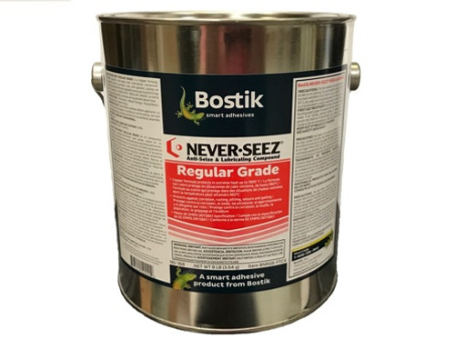 Bostik Never-Seez Regular Grade Anti-Seize 8 LB. Flat Top Can