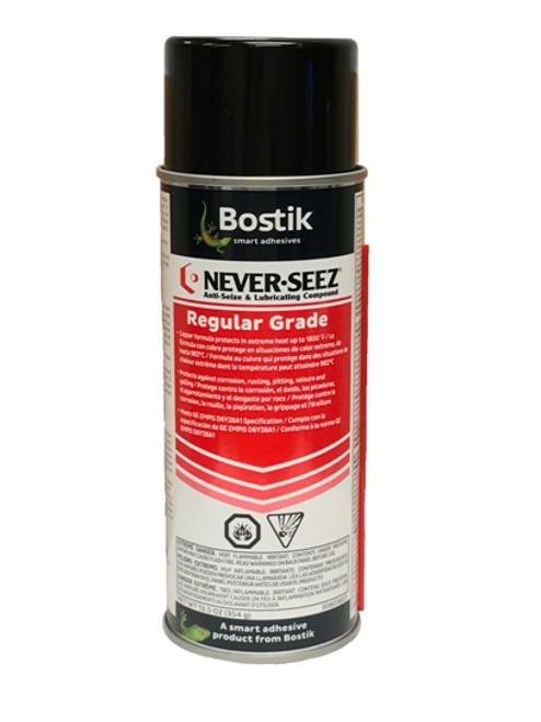 Bostik Never-Seez Regular Grade Anti-Seize 16 oz. Aerosol Can