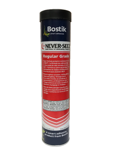 Bostik Never-Seez NSC-1 Regular Grade Anti-Seize 1 LB. Cartridge