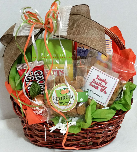 Georgia Gifts And Baskets Georgia Souvenirs And Favors