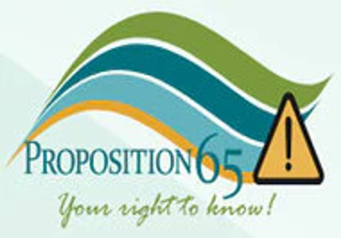 CALIFORNIA RESIDENTS - PROPOSITION 65