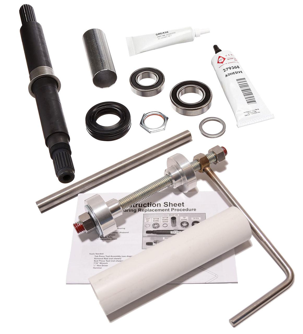 Part OEM Whirlpool W35-5655-1 Washer Hub Seal Nut Genuine Original Equipment Manufacturer