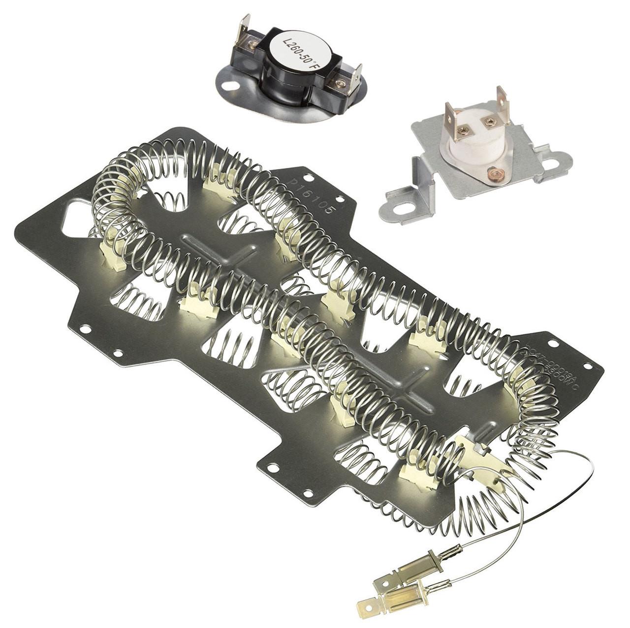 DV42H5400EF/A3-0000 Samsung Dryer Heating Element Fuse Kit