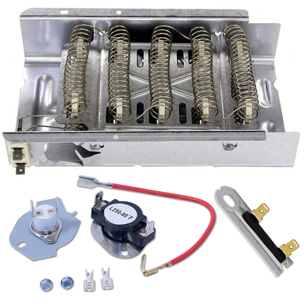 WED5840SW0 Heating Element And Thermostat Kit on