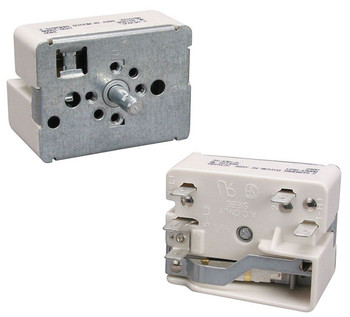 """CWEF310GSB White Westinghouse Stove Large 8"""" Surface Element Switch"""