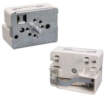 "WWEF3006KWA White Westinghouse Stove Small 6"" Surface Element Switch"