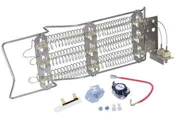 LER6634BW2 Whirlpool Dryer Heating Element And Fuse Kit