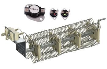 ADE20K3CKDA Admiral Dryer Heating Element Thermostat Thermal Fuse Kit