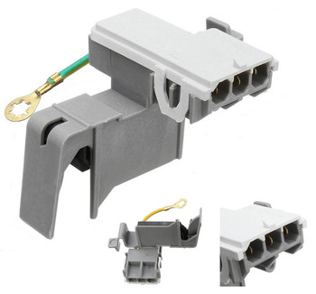 LSQ9549PW1 Whirlpool Washer Lid Switch 3 Pin