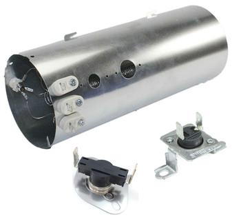 FFSE5115PW1 Frigidaire Dryer Heating Element Thermostat Fuse Kit