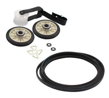 MEDC300BW0 Maytag Dryer Belt Pulley Roller Kit