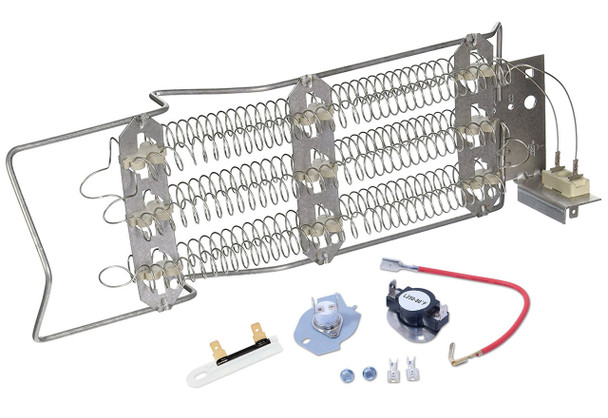 1093B3A Whirlpool Dryer Heating Element And Fuse Kit
