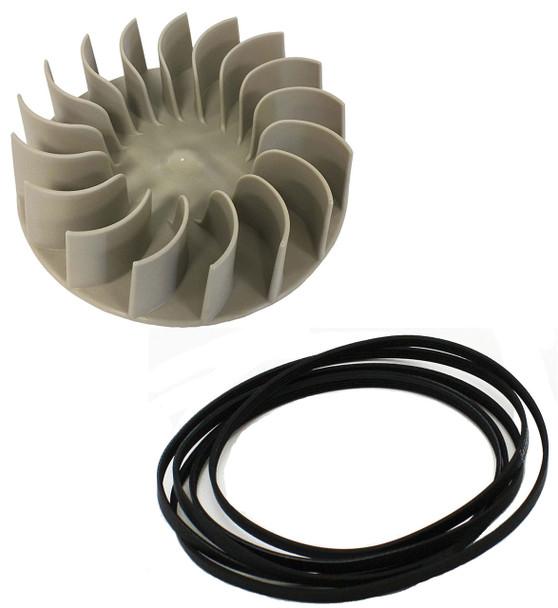 11086584400 Kenmore Dryer Blower Wheel And Belt Kit