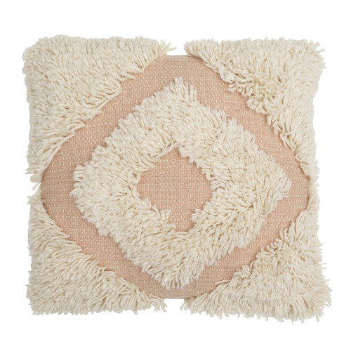 Langdon Shag Diamond Cushion