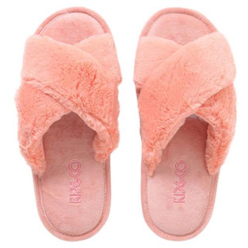KIP & CO - Blush Pink Adult Slippers