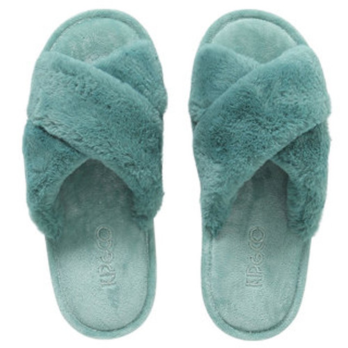 KIP & CO - Jade Green Adult Slippers