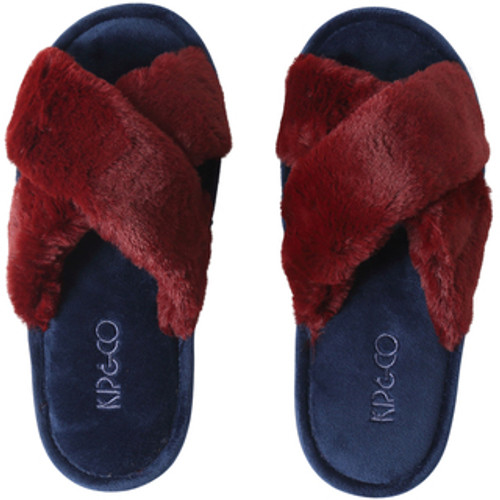 KIP & CO - Merlot Adult Slippers