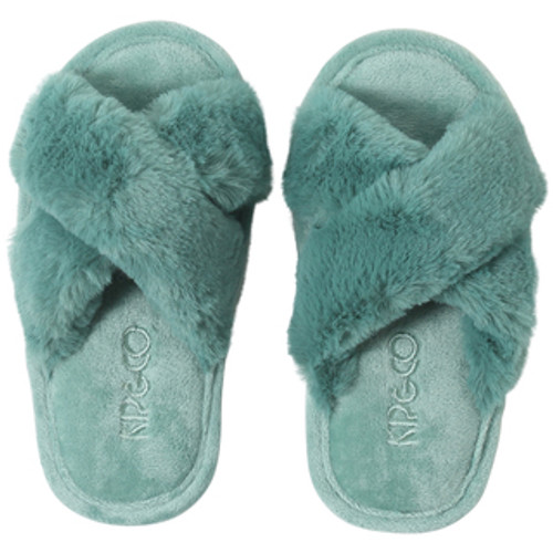 KIP & CO - Jade Green Kids Slippers