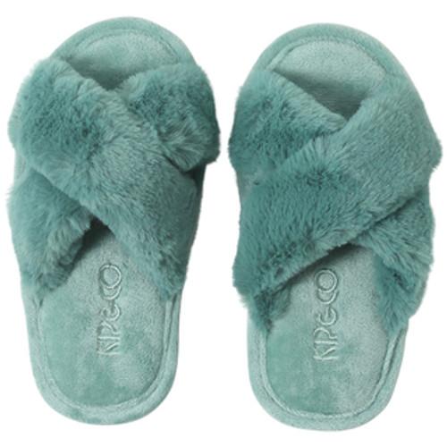 KIP & CO - Jade Green Kids Slippers