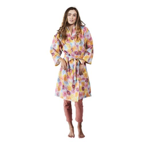KIP & CO - Petal Power Linen Robe
