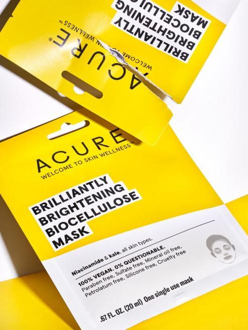 ACURE - Brightening Biocellulose Mask