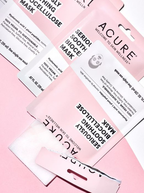 ACURE - Seriously Soothing Biocellulose Mask