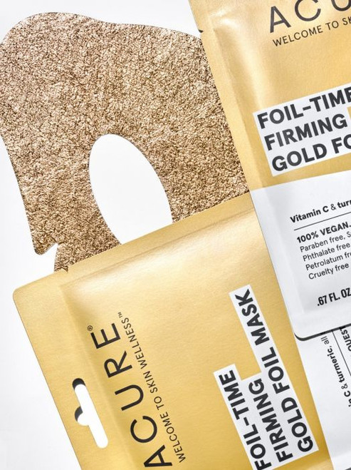 ACURE - Time Firming Gold Foil Sheet Mask