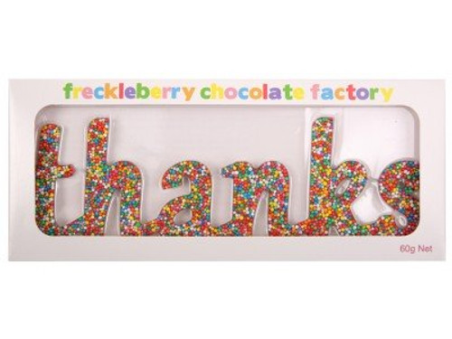 FRECKLEBERRY - Thanks Chocolate Word