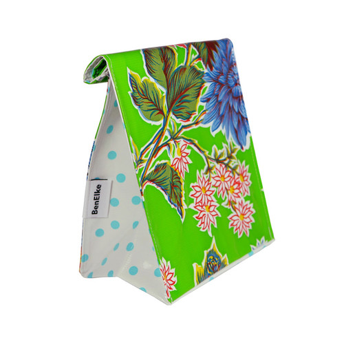 BEN ELKE - Mum's Green Flower Lunch Bag