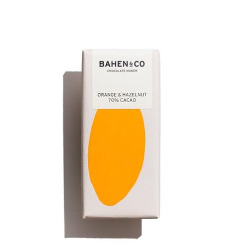 Bahen & Co. Orange & Hazelnut 70%CACAO