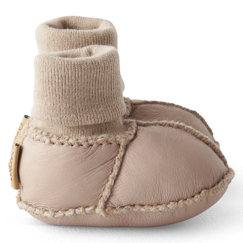 KIP & CO - Natural Almond Baby Bootie