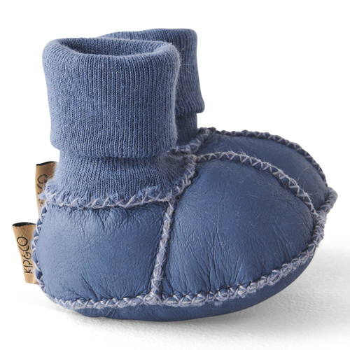 KIP & CO - Sky Blue Baby Bootie